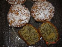 Kuchen & Torten : Mohn-Streusel-Muffins - Rezept