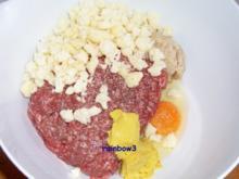 Kochen: Hackfleisch-Blumenkohl-Frikadellen - Rezept