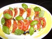 Tomaten Mozzarella - Rezept