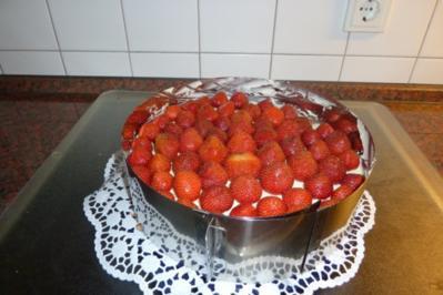 Erdbeertorte - Rezept