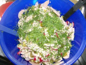 Wurstsalat wie wir Ihn mögen - Rezept