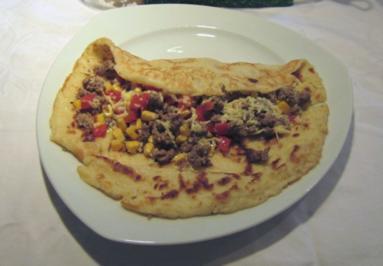 "Pfannkuchen ""Mexico Style"" - Rezept"