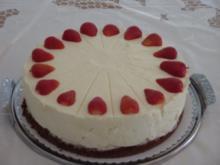 Erdbeer-Vanille-Joghurt Torte - Rezept
