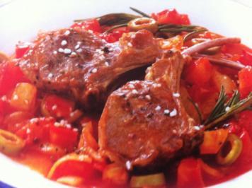 Lammkoteletts nach grichischer Art - Rezept