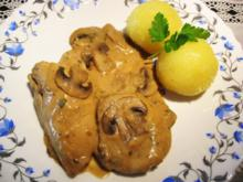 Hähnchenbrust in Pilzrahm-Soße ... - Rezept