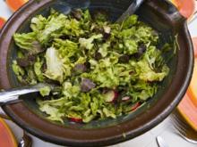 Salatdressing mit Kürbiskernmus - Rezept