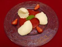 Topfennockerl auf Erdbeerspiegel (Andi Goldberger) - Rezept - Bild Nr. 9