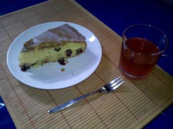 Rezept: Kuchen: Cranberry-Kuchen!