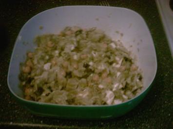 Aubergine - Feta - Datteln - und andere gute Sachen - Salat - Rezept