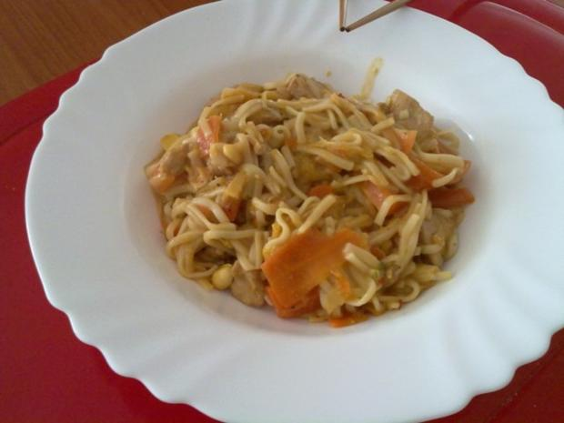 Thai Pasta - Rezept