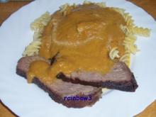 Kochen: Schmorbraten mit Möhrensauce - Rezept