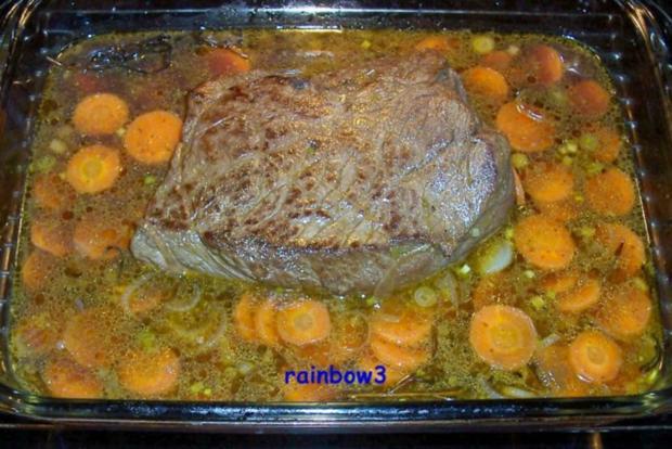 Kochen: Schmorbraten mit Möhrensauce - Rezept - Bild Nr. 6