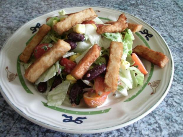 Scharfer Salat - Rezept