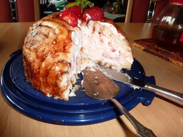 Torten: Erdbeer-Charlotte - Rezept - Bild Nr. 12