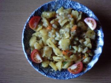 Rezept: Kartoffelsalat...diesmal bunt