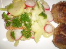 Kartoffelsalat der nach Frühling schmeckt - Rezept