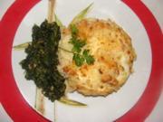 Gemüse : - Versteckte Eier im Kartoffelschnee- - Rezept