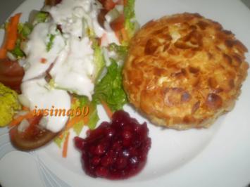Rezept: Camembert mit Mandelkruste