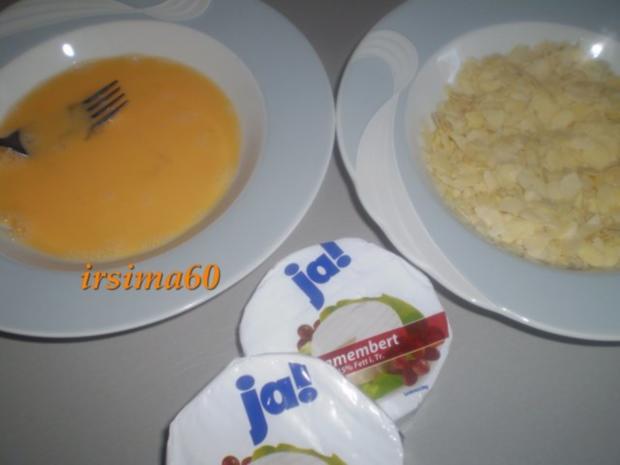 Camembert mit Mandelkruste - Rezept - Bild Nr. 3