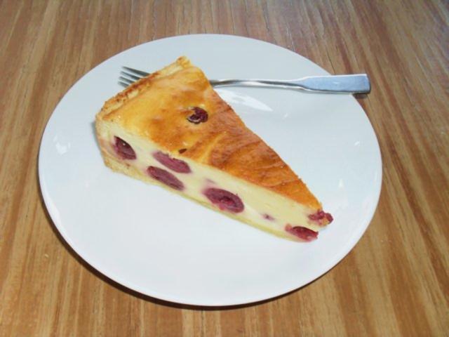 Quark Kirsch Kuchen Rezept Mit Bild Kochbar De