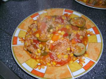 Gemüse - Jambalaya - Rezept