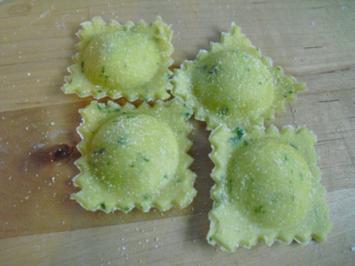Rezept: Basilikum Ravioli