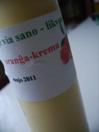 Orangen-Sahne-Likör - Rezept