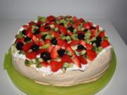 Pavlova Torte - Rezept