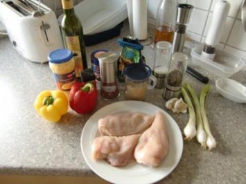 Scharfer Paprika Hähnchen Wok - Rezept