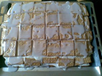 Zitronen-Butterkeks Kuchen - Rezept