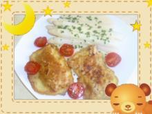 Weißer Spargel mit Hähnchen-Piccata - Rezept