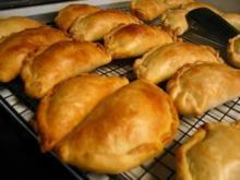 Nigerian Meat Pies - Afrikanische Piroggen, herzhaft ! - Rezept