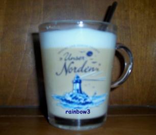Getränk: Latte macchiato con Nutella - Rezept