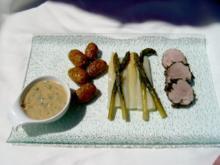 Schweinefilet im Kräutermantel - Rezept