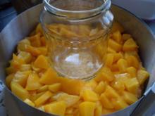 Lochtorte mit Pfirsich - Rezept