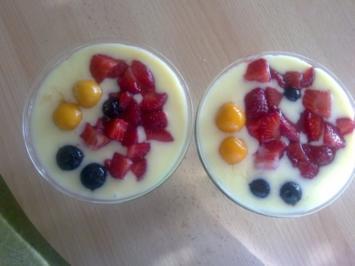 Dessert: Waldmeister Wackelpudding - Rezept
