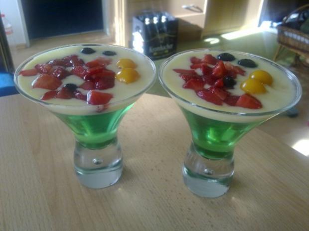 Dessert: Waldmeister Wackelpudding - Rezept - Bild Nr. 3