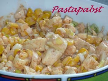 Rezept: Mais-Lauch-Salat