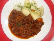 Fleisch : -Rindfleisch aus der Dose- - Rezept