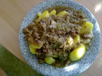 Fleisch: Krautgulasch - Rezept