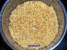 Snack: Scharfe Käse-Mandel-Cracker - Rezept
