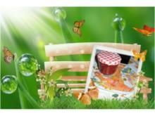 Brotaufstrich. Erdbeermarmelade - Marzipan-Schoko - Rezept