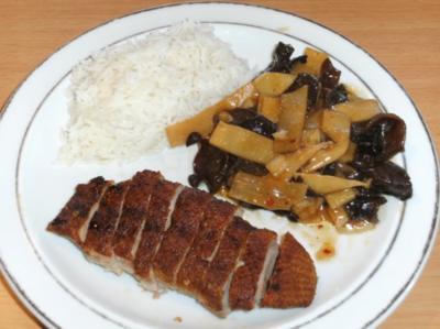 Fleisch: Entenbrust chinesisch - Rezept