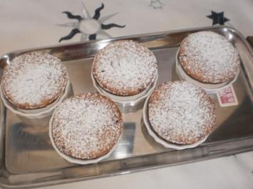 Preiselbeer Muffins - Rezept