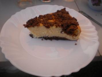 Käse-Streusel-Kuchen - Rezept