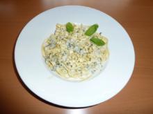 Fettuccine mit Käsesauce - Rezept