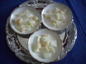 Honigmelone asiatische Art - Rezept