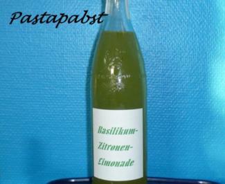 Basilikum-Limonade - Rezept