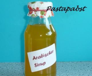 Rezept: Arabischer Sirup