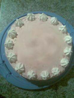 Schnelle Himbeer-Sahne-Torte - Rezept